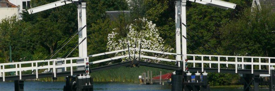 De Rembrandtbrug in de lente